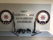 Samsun'da Silah Kaçakçılığı Operasyonu Açıklaması 4 Gözaltı