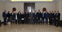 GELIR İDARESI BAŞKANLıĞı - Vergi Dairesi Başkanı Halil Tekin'den GSO'ya Ziyaret