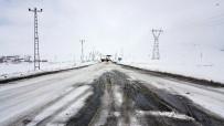 Ağrı Ve Horasan'da Eğitime Kar Engeli