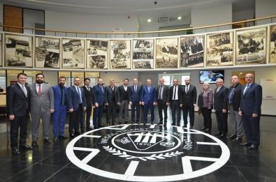Aktaş'tan İTSO Yönetimine Ziyaret