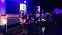 Araç Karanlıkta Gölete Uçtu Açıklaması 2 Ölü, 3 Yaralı