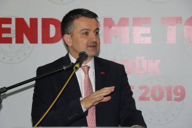 Bakan Pakdemirli, Karabük'ün Sera Yatırımına Önem Vermesini İstedi
