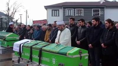 Baraja Düşen Araçta Ölen İki Kardeşin Cenazeleri Defnedildi