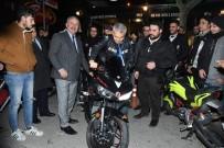 Başkanı Günaydın Motosikletçilerle Buluştu