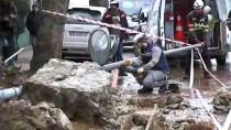 PİRİ REİS - Beykoz'da Bir İstinat Duvarı Çöktü