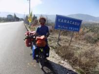 DÜNYA TURU - Bisikletine Yüklediği Eviyle 81 İl Ve 800 İlçeyi Gezecek