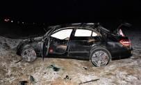 GURBETÇI - Elazığ'da 2 Ayrı Trafik Kazası Açıklaması 5 Yaralı