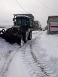 Güroymak Belediyesinden Kar Temizleme Çalışmaları