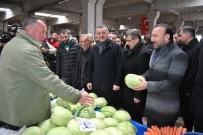 NEVZAT DOĞAN - İzmit'te Pazarcılara Yük Olmadan 50 Milyon TL'lik Yatırım Yapıldı