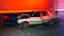 Kırıkkale'de Otomobil İle Tır Çarpıştı Açıklaması 4 Yaralı