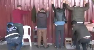 Milyonlarca Liralık Vurgun Yapan Çeteye Baskın