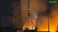 SOYUZ - Oneweb'in İlk Uyduları Uzaya Fırlatıldı