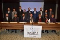 İNİSİYATİF - TÜMSİAD Konya Şubesinde Yeni Yönetim Göreve Başladı