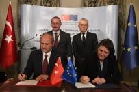 YOLCU TAŞIMACILIĞI - Türkiye'de Yürütülen En Büyük AB Yatırım Projesinin İmzaları Atıldı