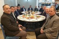 ESNAF ODASı BAŞKANı - Vali Yazıcı, Esnaf Odalarının Başkanları İle Buluştu