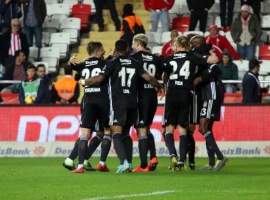 Beşiktaş'tan Antalya'da gol şov