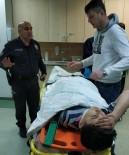 Buzdan Kayan Otomobil Kaza Yaptı Açıklaması 2 Yaralı