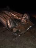 MEHMET PARLAK - Çavdarhisar'da Trafik Kazası Açıklaması 1 Ölü 2 Yaralı