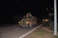 Hatay'dan sınıra zırhlı araç sevkiyatı