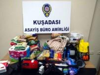 ŞÜPHELİ ARAÇ - Kuşadası'nda 2 Ayrı Hırsızlık Olayının Faili Polisin Takibi Sonucu Yakalandı