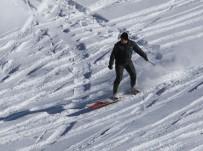 Rize'de 'Petranboard' İle Snowboard Heyecanı Yaşandı