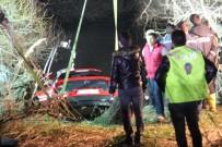 Derede Kaybolan Araçtaki 3 Gencin Cansız Bedeni Bulundu