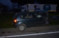 İBRAHIM ÇIÇEK - Ordu'da Trafik Kazası Açıklaması 1 Ölü, 3 Yaralı