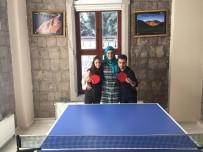 GÜNEY DOĞU - Özel İnsanlar Eğitim Merkezi Masa Tenisi Ekibi Antalya Yolcusu