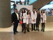TIP FAKÜLTESİ ÖĞRENCİSİ - Tıp Öğrencileri Kansere 'Dur' Demek İçin Vatandaşlarla Buluştu
