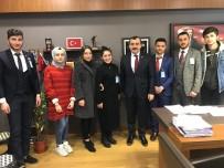 AHMET ÖZDEMIR - AK Parti Alaplı İlçe Gençlik Kolları, TBMM'de Parti'nin Grup Toplantısını İzledi