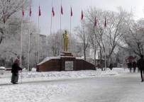 Ardahan'da Dondurucu Soğuk Açıklaması Göle Eksi 29 Derece