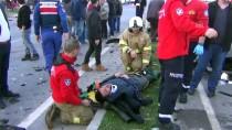 CEYHAN - Balıkesir'de Zincirleme Trafik Kazası Açıklaması 8 Yaralı
