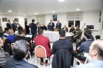 BEYIN FıRTıNASı - Belediye Başkanı Gürkan Sanatçılarla Bir Araya Geldi