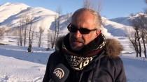 ERMENI - Dondurucu Soğukta Belgesel Çekimi