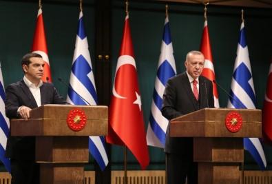 Erdoğan ile Çipras ortak basın toplantısı düzenledi