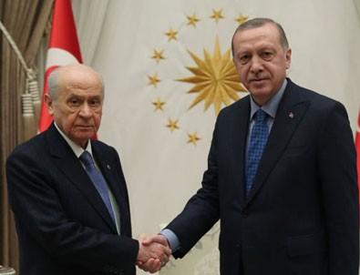 Erdoğan ile Bahçeli yarın bir araya geliyor
