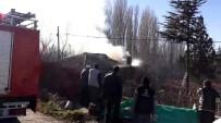 AHŞAP EV - Isparta'da Korkutan Ev Yangını