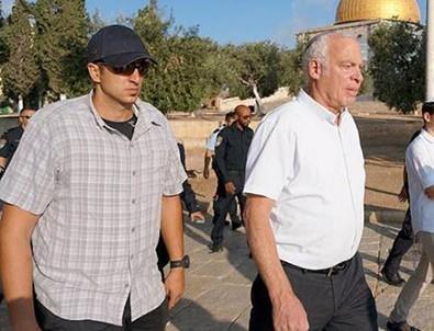 İsrailli bakandan Mescid-İ Aksa'ya baskın