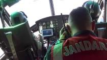 TRAFİK DENETİMİ - Kural İhlali Yapan Sürücüler Helikopterli Denetimle Tespit Edildi