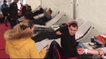MEHMET UZUN - 'Polis Kızılay Ele Ele, Haydi Kan Vermeye' Kampanyası