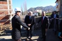 Rize Valisi Kemal Çeber Diş Hekimliği Fakültesi İnşaatını İnceledi