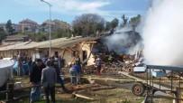 Sinop'ta Balıkçı Barınaklarında Yangın
