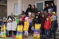 BOZÜYÜK BELEDİYESİ - Anaokul Öğrencileri Hayvan Barınağını Ziyaret Etti