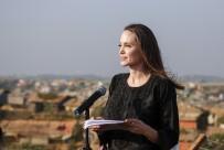 ANGELİNA JOLİE - Angelina Jolie, Arakanlı Müslümanları Ziyaret Etti