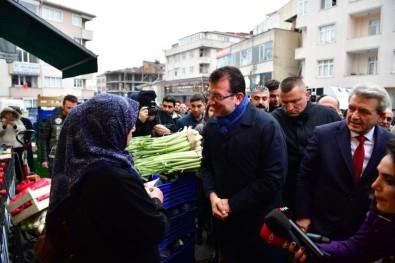 CHP İstanbul Büyükşehir Belediye Başkan Adayı İmamoğlu'na Şiirli Karşılama