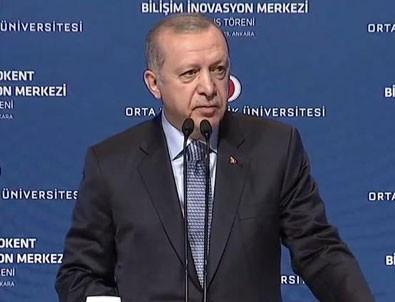 Cumhurbaşkanı Erdoğan'dan ODTÜ'de önemli mesajlar