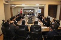 MEHMET UZUN - Gaziantep Sosyal Güvenlik İl Müdürlüğünden MÜSİAD'a Ziyaret