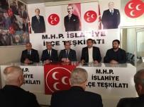 GENEL SEÇİMLER - İl Başkanı Çelik Ve Yönetimi İslahiye'de Vatandaşlarla Buluştu