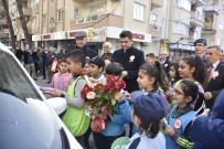 EDIZ SÜRÜCÜ - İncirliova'da 'Güvenli Trafik İçin Öncelik Yayaların' Etkinliği