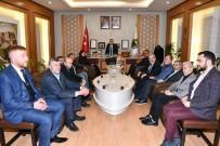 OLGUNLUK - MHP Yönetiminden Taban'a Destek Ziyareti